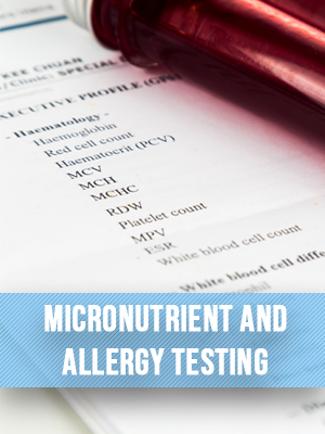 Micronutrient And Allergy Testing